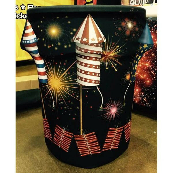 Fireworks Bin Cover