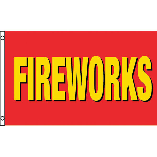 PNFLG2 RED YELLOW FIREWORKS