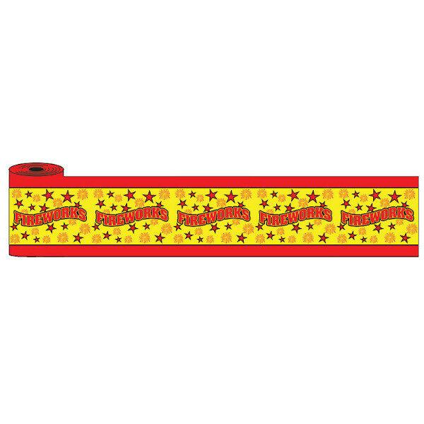PNPOP36- YELLOW FIREWORKS ROLL ZOOM