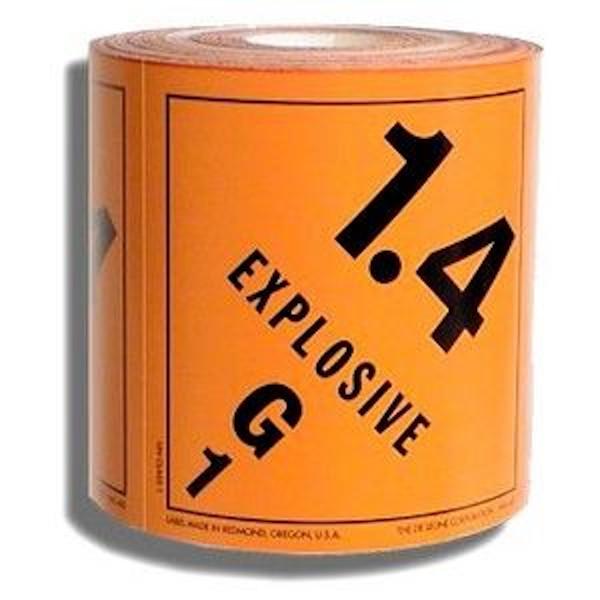 1.4 Explosives