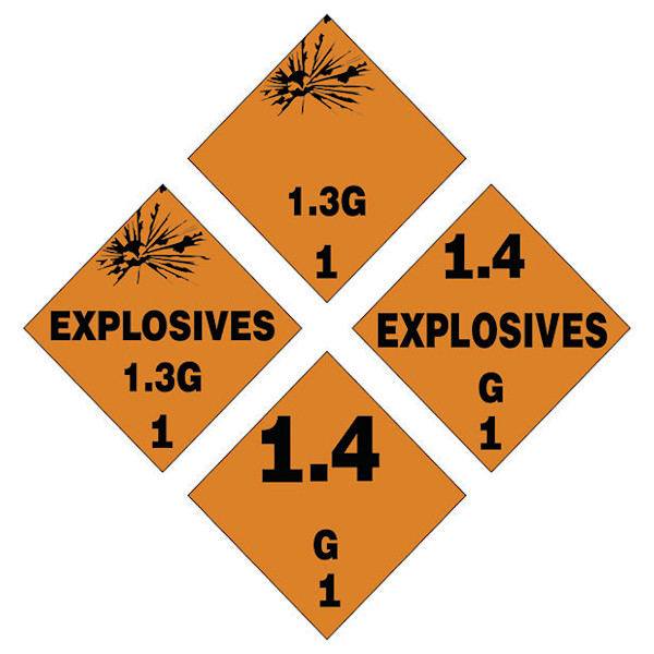 HAZARDOUS MATERIALS VINYL GROUPING