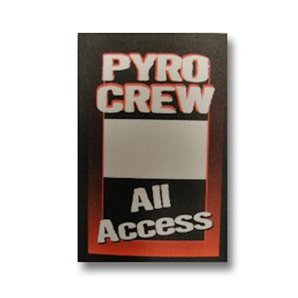 Pyro Crew Satin Patch