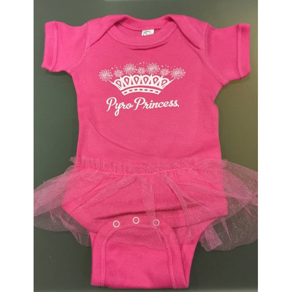 Pyro Princess Baby Tutu