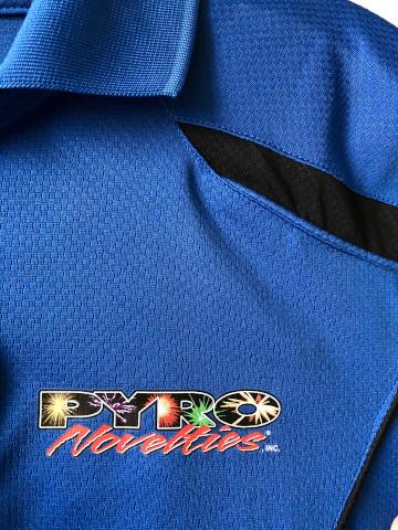 Pyro Novelties Polo_Heat Transfer
