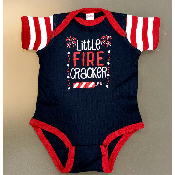 Little Firecracker Onesie_Actual