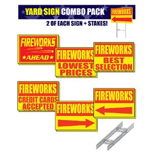 yard sign combo pack