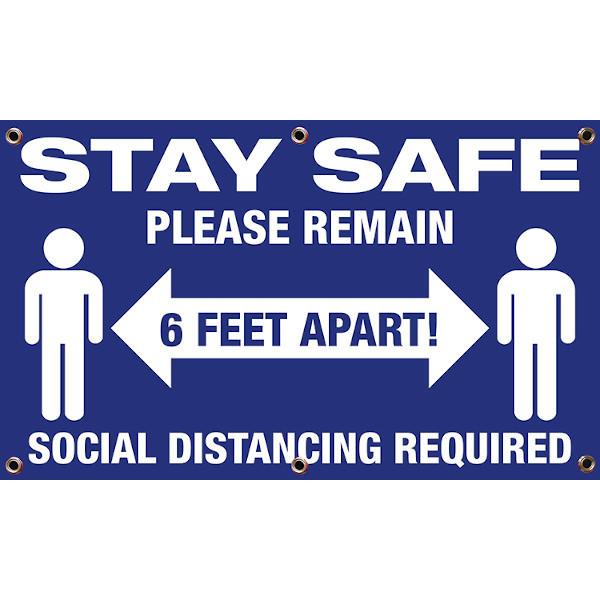 3x5 Social Distancing