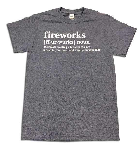 FIREWORKS DEFINITION TEE