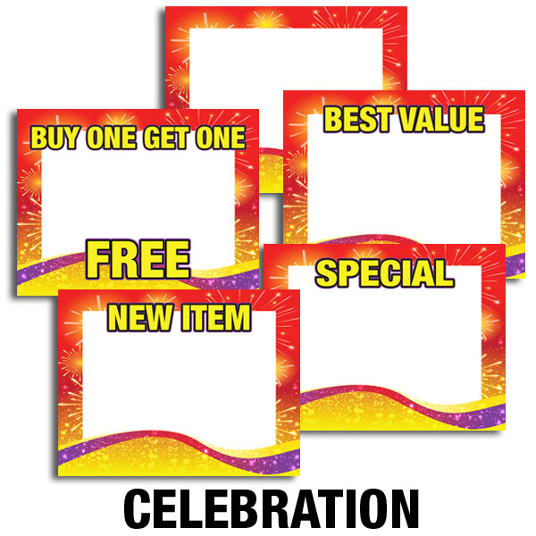 Price Cards Celebration