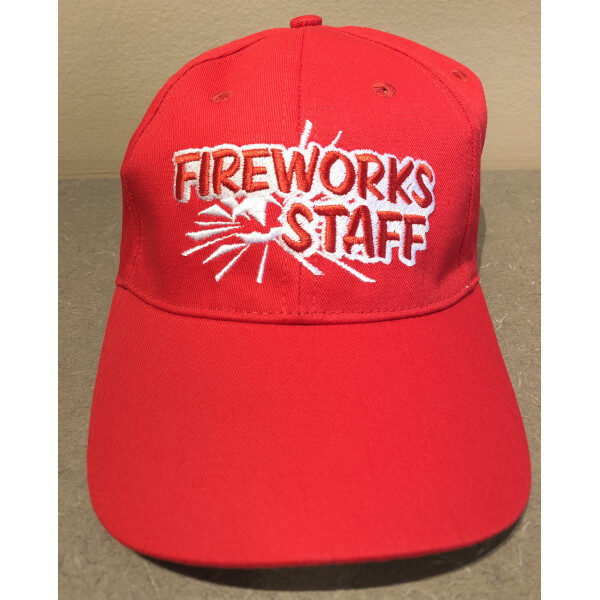 Fireworks Staff Hat 2021